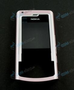Kryt Nokia N72 predný ružový Originál