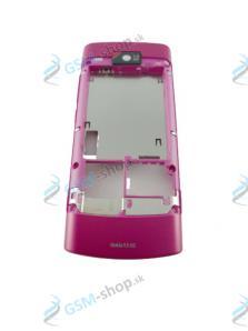 Stred Nokia X3-02 zadný ružový Originál