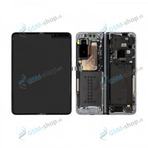 LCD Samsung Galaxy Fold (F900) a dotyk s krytom strieborným Originál