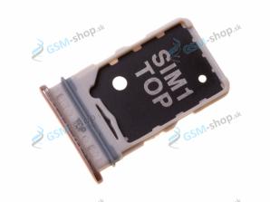 Sim držiak Samsung Galaxy A80 (A805) zlatý Originál