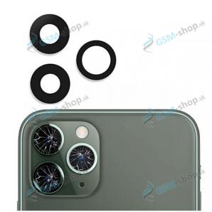 Sklíčko kamery SADA pre iPhone 11 Pro, iPhone 11 Pro Max čierne OEM