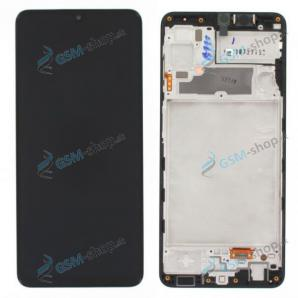 LCD displej Samsung Galaxy A22 (A225F) a dotyk čierny s krytom Originál
