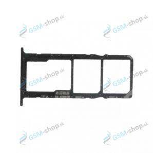 Sim a Micro SD držiak Huawei Y5p čierny Originál