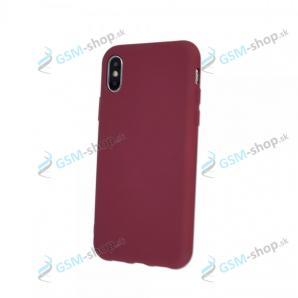 Púzdro iPhone Xs Max silikón Burgundy