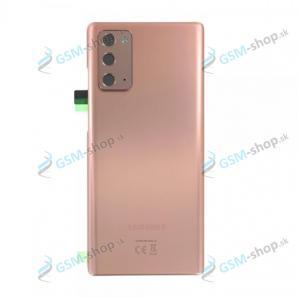 Kryt Samsung Galaxy Note 20 (N980) batérie bronzový Originál