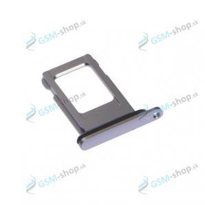 SIM držiak iPhone 11 fialový Originál