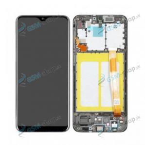 LCD displej Samsung Galaxy A20e (A202) a dotyk čierny s krytom Originál