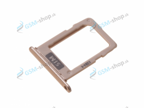 Sim držiak Samsung Galaxy A6 (2018) A600 zlatý Originál