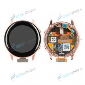 LCD Samsung Galaxy Watch Active (R500) a dotyk zlatý Originál
