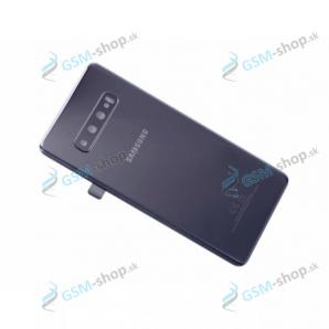 Kryt Samsung Galaxy S10 Plus (G975) batérie čierny Originál