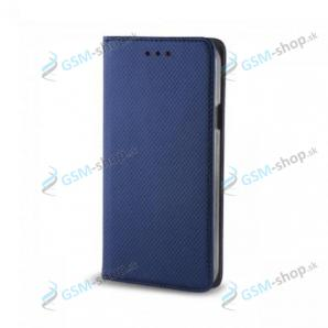 Púzdro Huawei P10 Lite knižka magnetická modrá