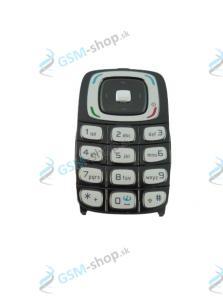 Klávesnica Nokia 6103 čierna Originál