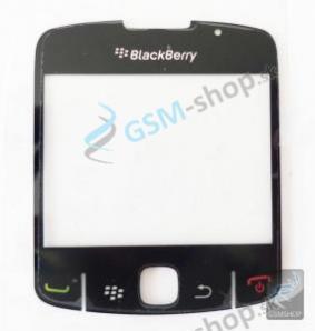 Sklíčko Blackberry 8520 čierne