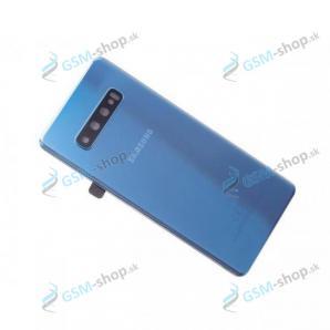 Kryt Samsung Galaxy S10 Plus (G975) batérie modrý Originál