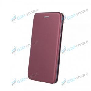 Púzdro DIVA iPhone 12, iPhone 12 Pro knižka magnetická Burgundy
