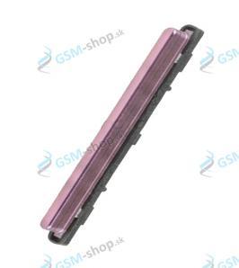 Tlačidlá hlasitosti Samsung Galaxy A9 2018 (A920) ružové Originál