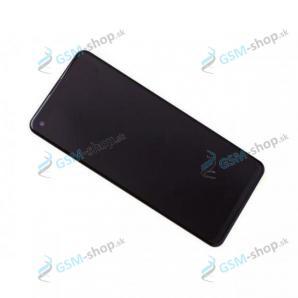 LCD Samsung Galaxy A21s (A217F) a dotyk čierny s krytom Originál