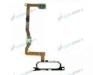 Flex Samsung Galaxy Alpha G850F a home tlačidlo biele Originál