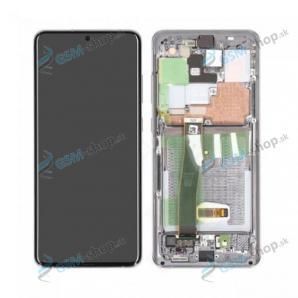 LCD Samsung Galaxy S20 Ultra (G987, G988) a dotyk s krytom bielym Originál
