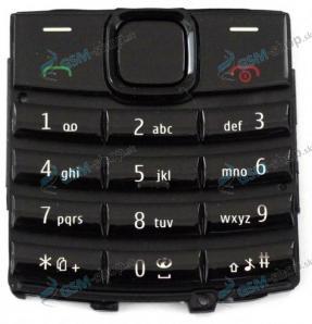 Klávesnica Nokia X2-02 čierna Originál