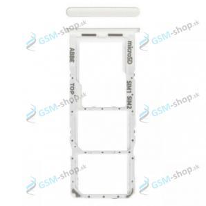 SIM a SD držiak Samsung Galaxy A22 5G (A226) biely Originál