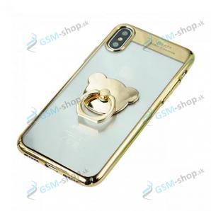 Púzdro iPhone X, iPhone XS Sulada s úchytkou zlaté