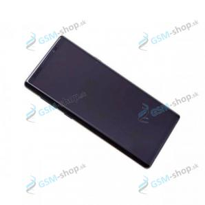 LCD Samsung Galaxy Note 9 (N960) a dotyk s krytom čiernym Originál