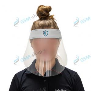 Umývateľný ochranný štít na tvár