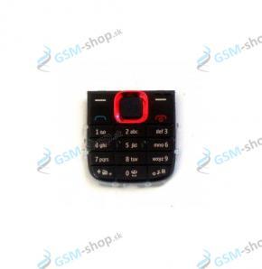 Klávesnica Nokia 5130 červená Originál