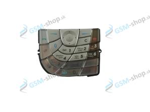 Klávesnica Nokia 7610 strieborná Originál