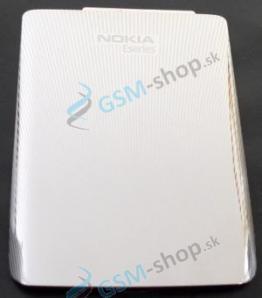 Kryt Nokia E72 batérie strieborný Originál