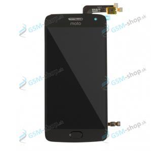 LCD displej Motorola Moto G5 Plus a dotyk čierny Originál