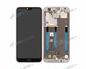 LCD Nokia 7.1 a dotyk s krytom Steel Originál