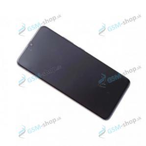 LCD Samsung Galaxy A90 5G (A908) a dotyk s krytom čiernym Originál