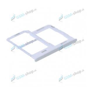 SIM a SD držiak Samsung Galaxy A31 (A315) biely Originál