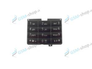 Klávesnica Nokia 7100 Supernova veľká čierna Originál