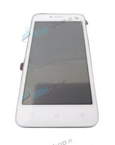 LCD Lenovo A Plus (A1010a20) a dotyk biely s krytom Originál