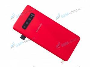 Kryt Samsung Galaxy S10 (G973) batérie červený Originál