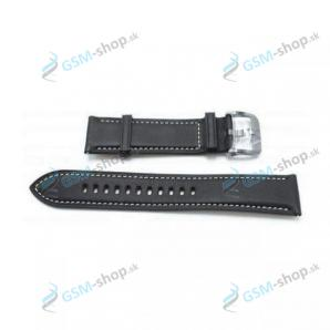 Remienok Samsung Galaxy Watch 3 45 mm (R840, R845) kožený strieborný Originál