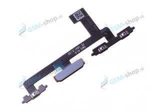 Flex Sony Xperia 10 a snímač odtlačku prsta modrý Originál