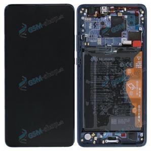 LCD Huawei Mate 20 X a dotyk s krytom modrým Originál