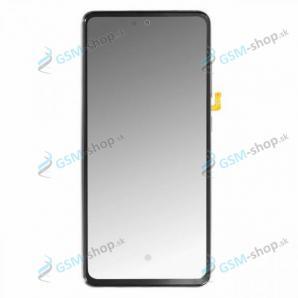 LCD displej Samsung Galaxy A52, A52 5G a dotyk s krytom modrým Originál