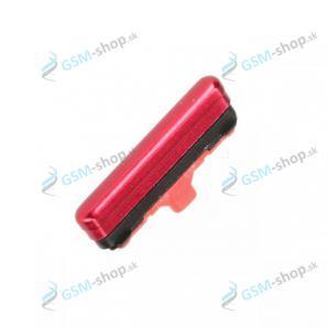 Tlačidlo Samsung Galaxy Note 10 Lite (N770) pre zapínanie červené Originál