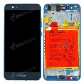 LCD Huawei P10 Lite a dotyk modrý s krytom Originál