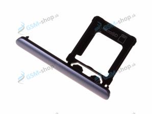 Sim a Micro SD držiak Sony Xperia XZ1 modrý Originál