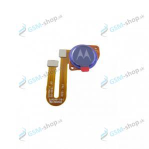 Flex Motorola Moto G9 Power (XT2091) a snímač odtlačku modrý Originál