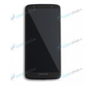 LCD displej Motorola Moto G6 (XT1925) a dotyk modrý s krytom Originál