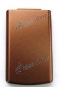 Kryt Nokia 6500 Classic spodný hnedý Originál