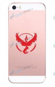 Púzdro silikón pre iPhone 6, iPhone 6s GO Red priesvitné