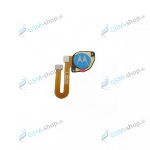 Flex Motorola Moto E7 Power, E7i Power (XT2097) a snímač odtlačku modrý Originál